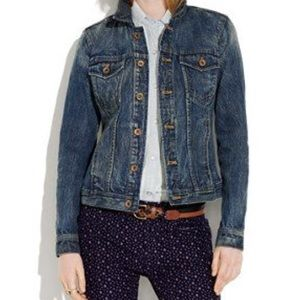 Madewell Jean Jacket in Storm Cloud, M